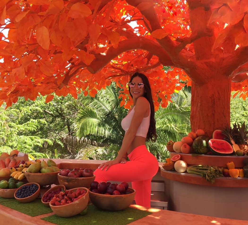 Jen Selter an Inspiration at Tafer's Hotel Mousai
