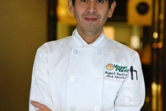 Vegan Planet's Chef Miguel Bautista