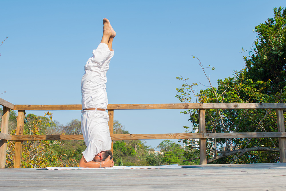 What type of yoga do you teach at Garza Blanca and Hotel Mousai?