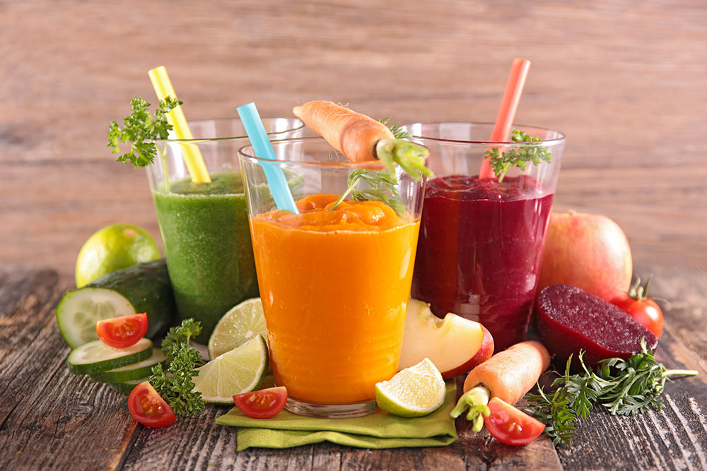 Juices - Start the day light!