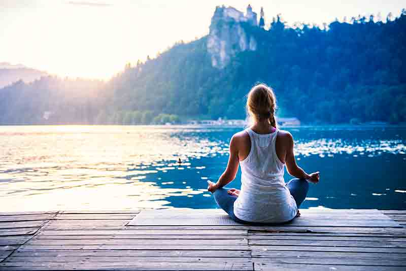 Meditate to ease stress