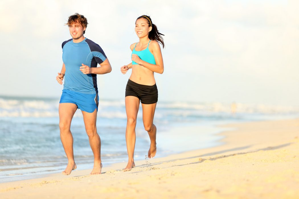 Stay Fit on Vacation: Running on Sand