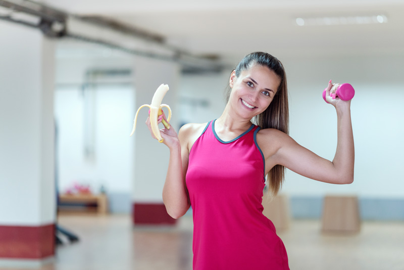 Eating Bananas May Help you Lose Weight